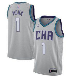 Men's Charlotte Hornets Malik Monk Jersey